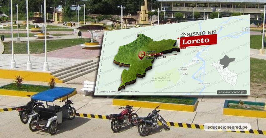 Fuerte sismo de magnitud 7.2 se sintió también en Lima. Epicentro se ubicó en Loreto