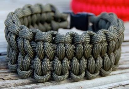 Паракорд толстый браслет