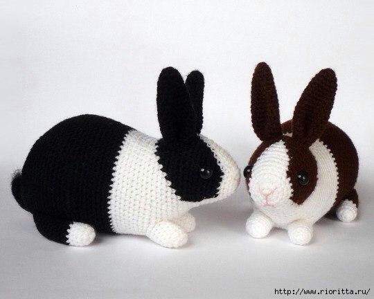 Häkelblog Täglich Neue Anleitungen Kaninchen Häkelanleitung