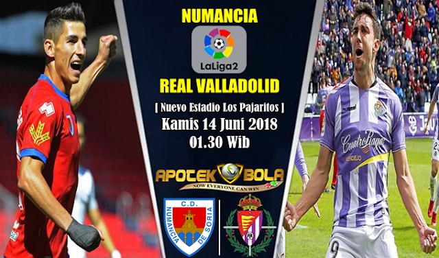 Prediksi Numancia vs Real Valladolid 14 Juni 2018