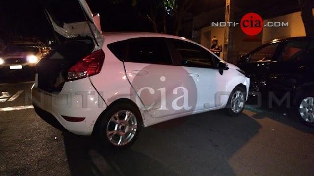 Carro tomado em assalto em residência de  Roncador é usado em fuga em Cianorte e um dos elementos foi morto