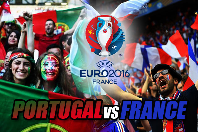 EUFA Euro2016 Final : Portugal vs France