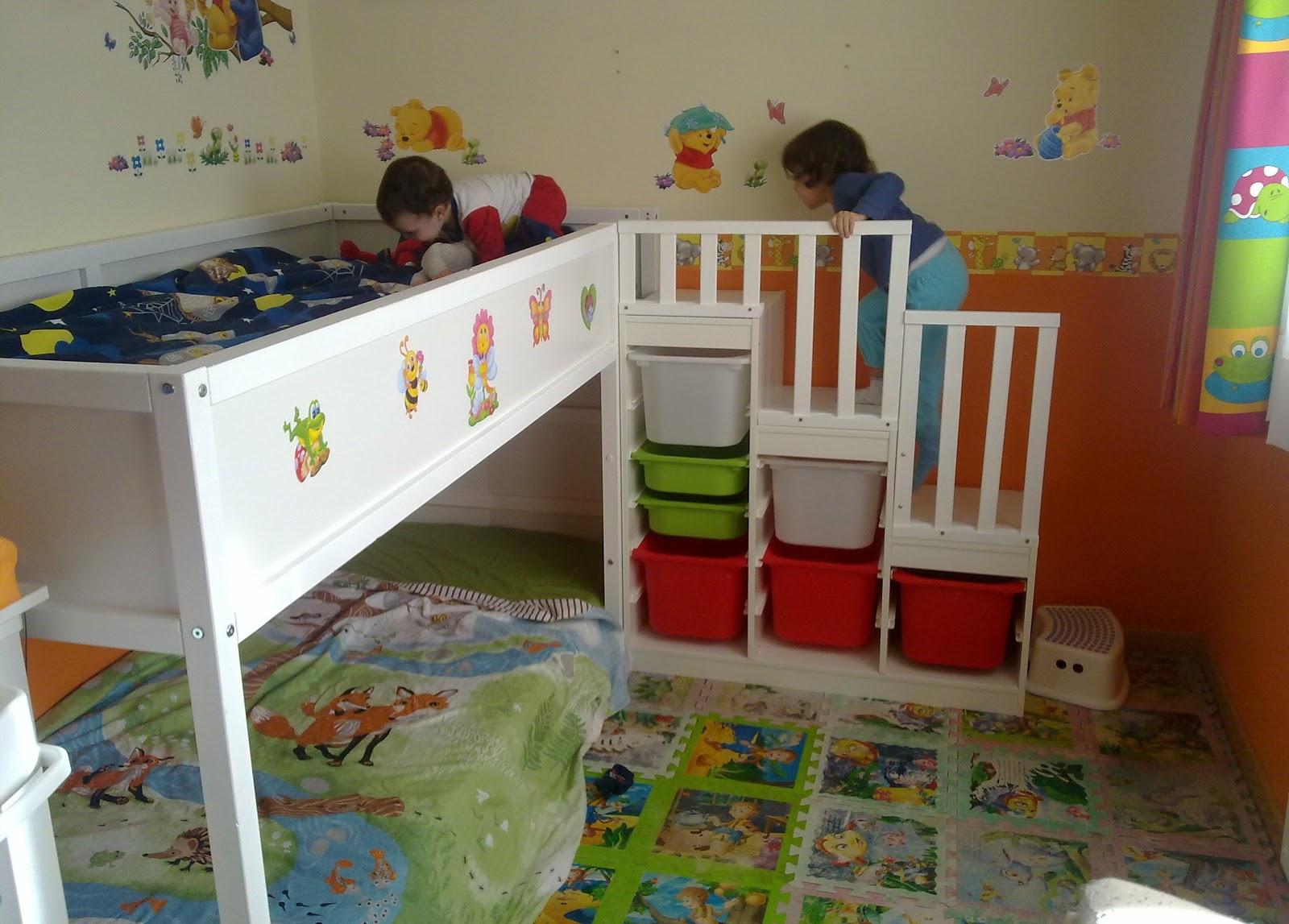 construyendo una familia su litera. Black Bedroom Furniture Sets. Home Design Ideas