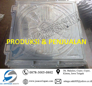 Manhole Cover Cast Iron kotak