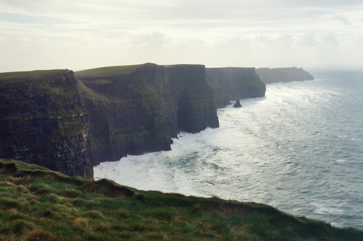 The Cliffs of Moher viewpoint
