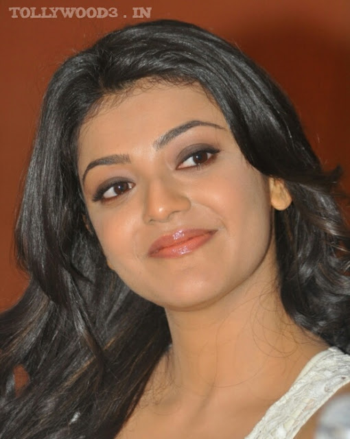 Latest Kajal Aggarwal Hot HD Smiling Close Up Face Photos