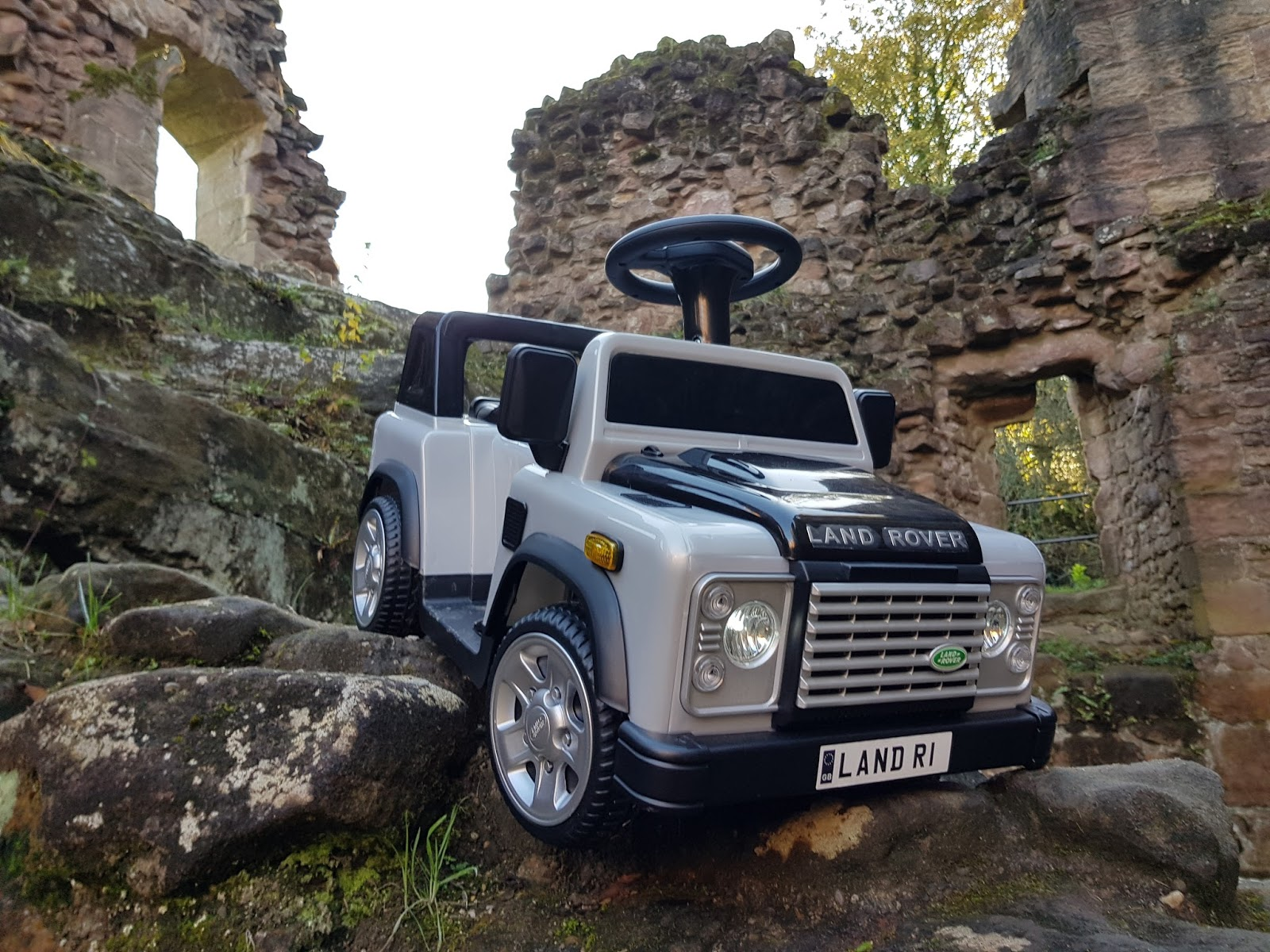 Kids Land Rover Electric Car