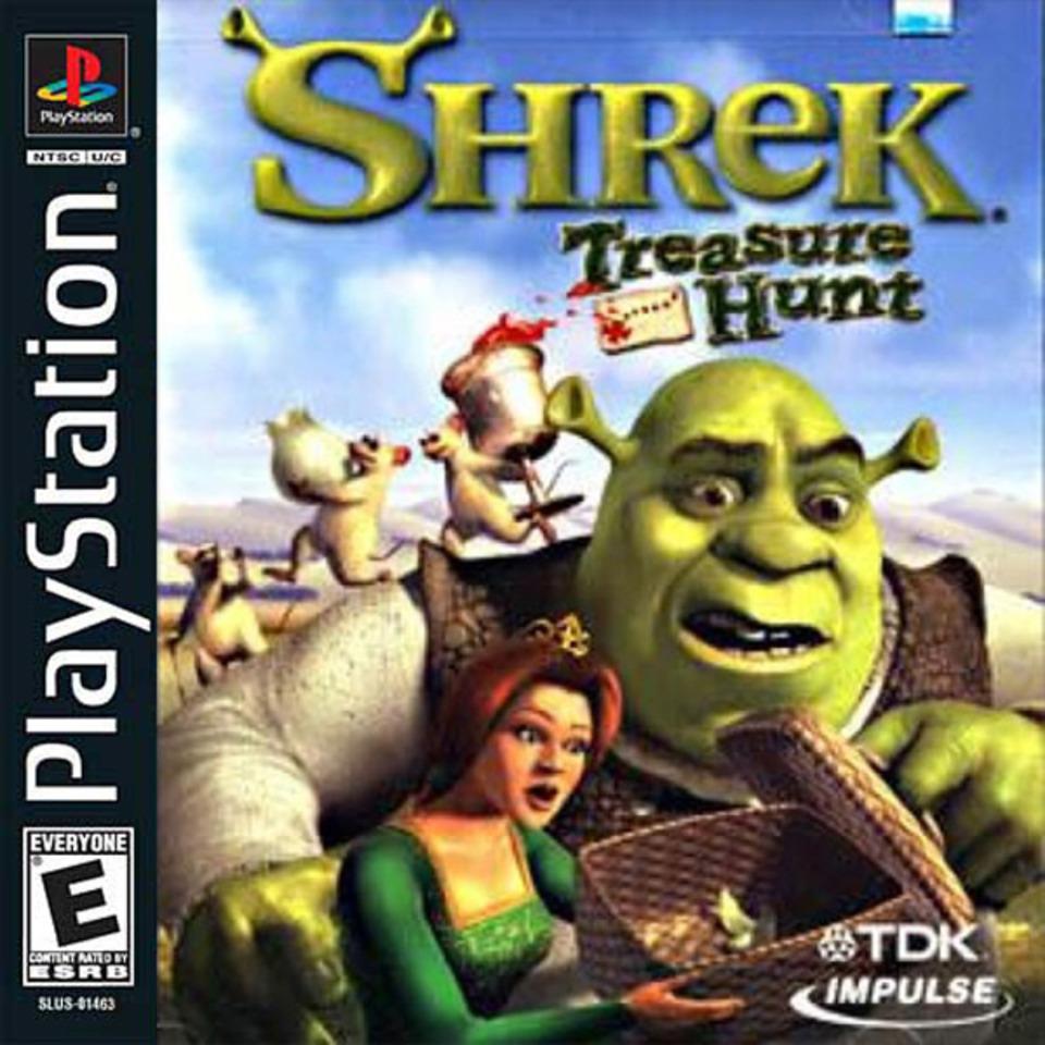 Shrek Treasure Hunt - PS1 - ISOs Download