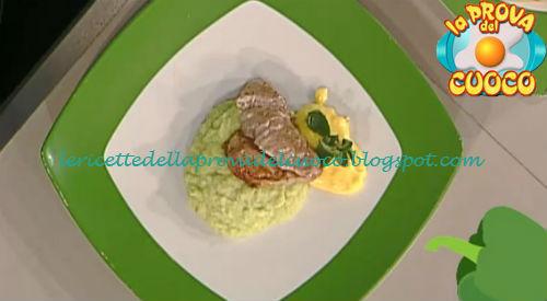 Filetto di maiale con crema di broccolo e bernaise alla mentuccia ricetta Facchini da Prova del Cuoco