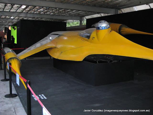 Exposición de Star Wars en Madrid- Nave- Star Wars exhibition in Madrid - Airship