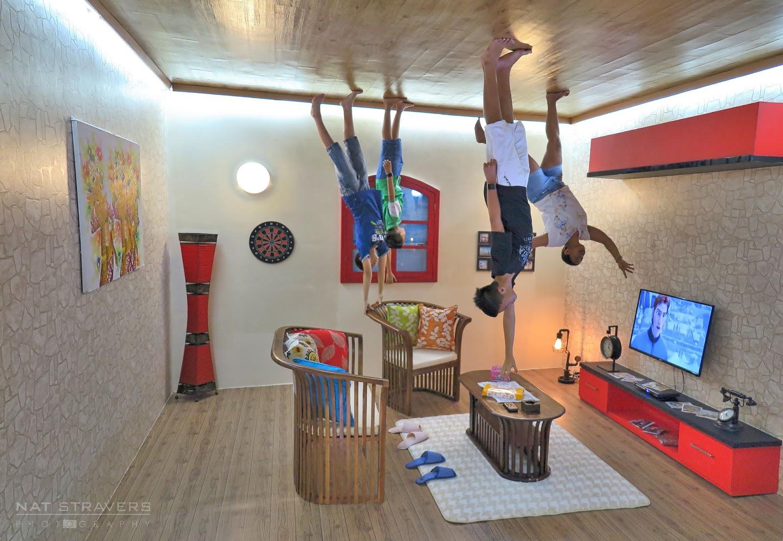 Upside Down World Bali Geret Koper