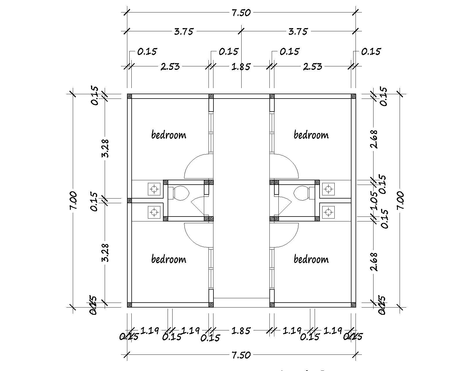 HOUSE PLANS FOR YOU  BOARDING HOUSE PLANSBOARDING HOUSE PLAN