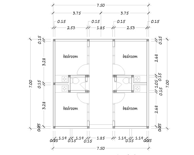 Boarding house plan 14