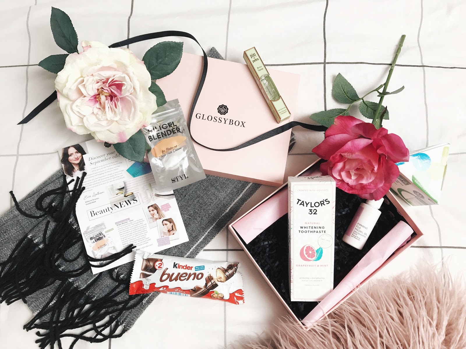 Glossybox September 2017 Unboxing Review The Kitty Luxe