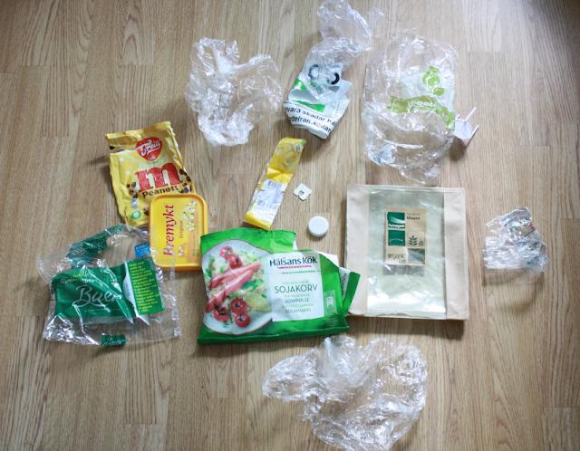 Ukens plastavfall under Plastic Free July Challenge