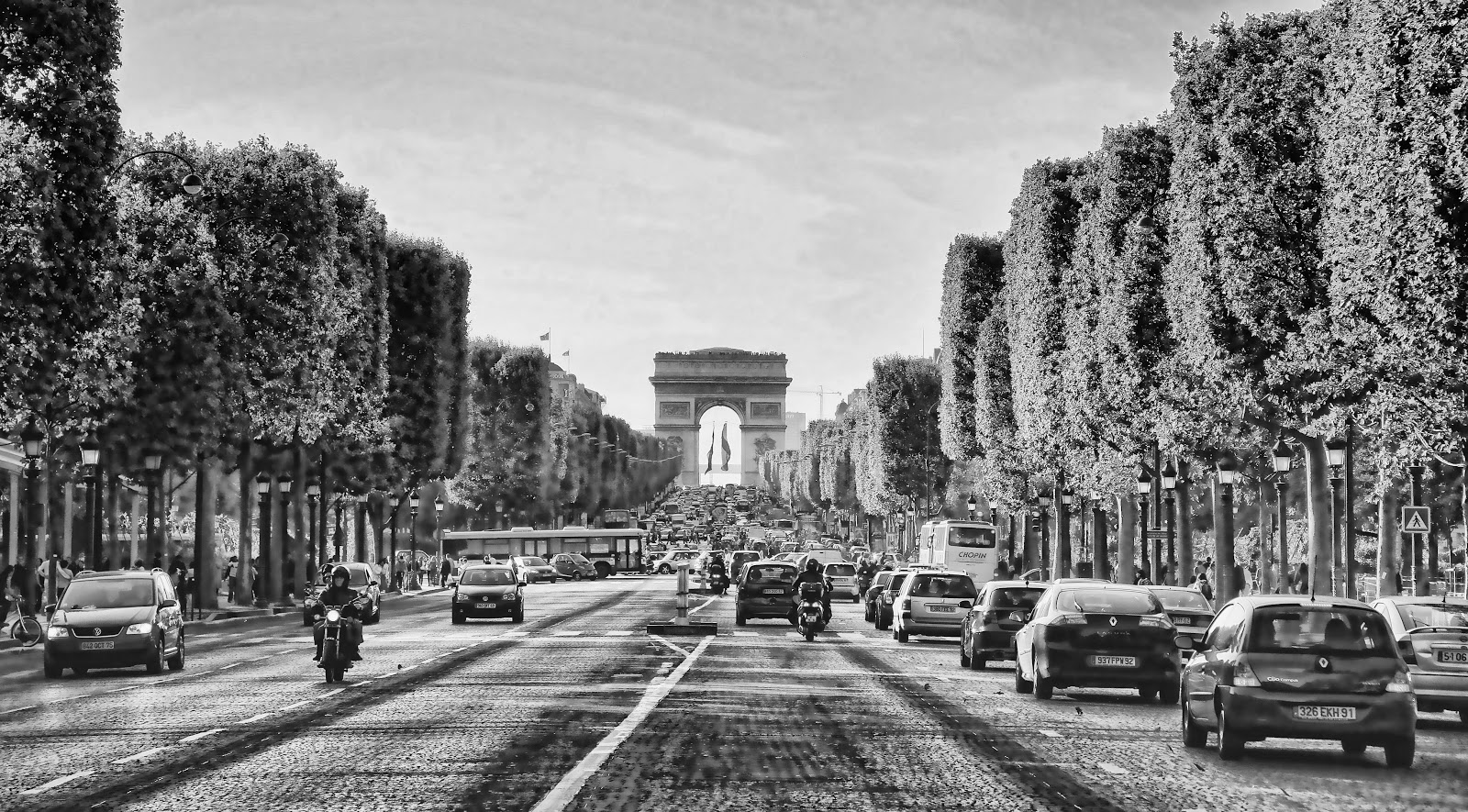 Chuck Kuhn's Paris in Photos: Paris Black and White