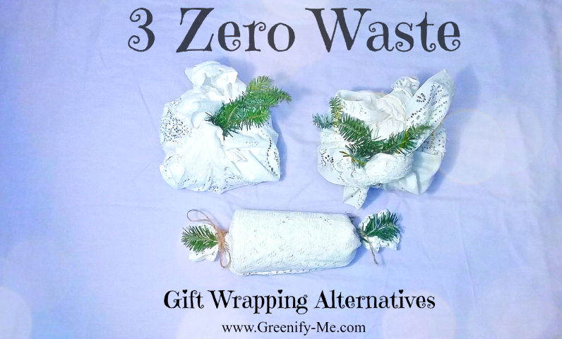 3 zero waste gift wrapping alternatives