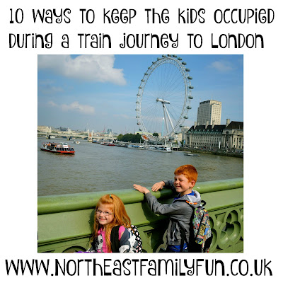 10 ways to keep the kids occupied during a train journey to London