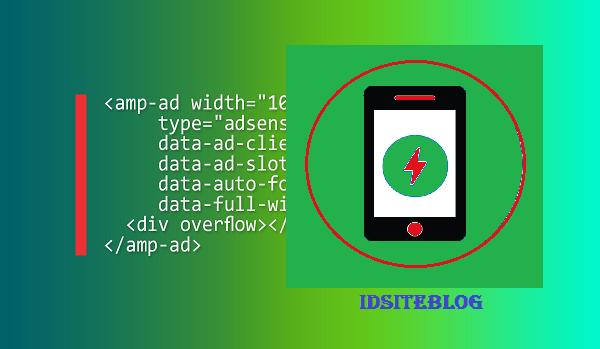Kode Iklan Adsense Blog AMP HTML