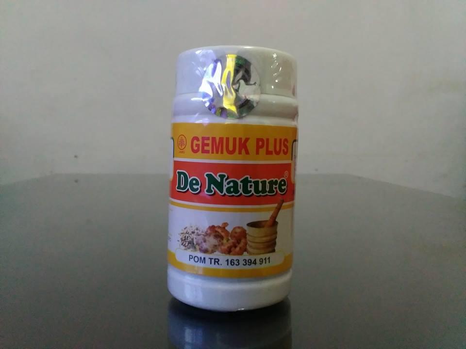 Kapsul Gemuk Plus de Nature Obat Gemuk