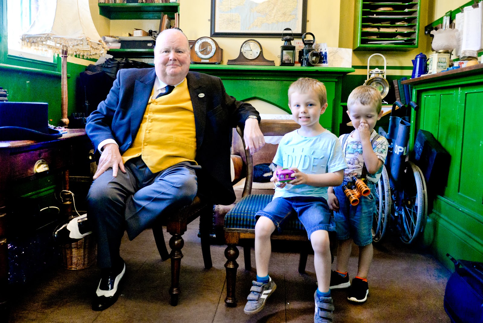 a day out with thomas, watercress line, the fat controller