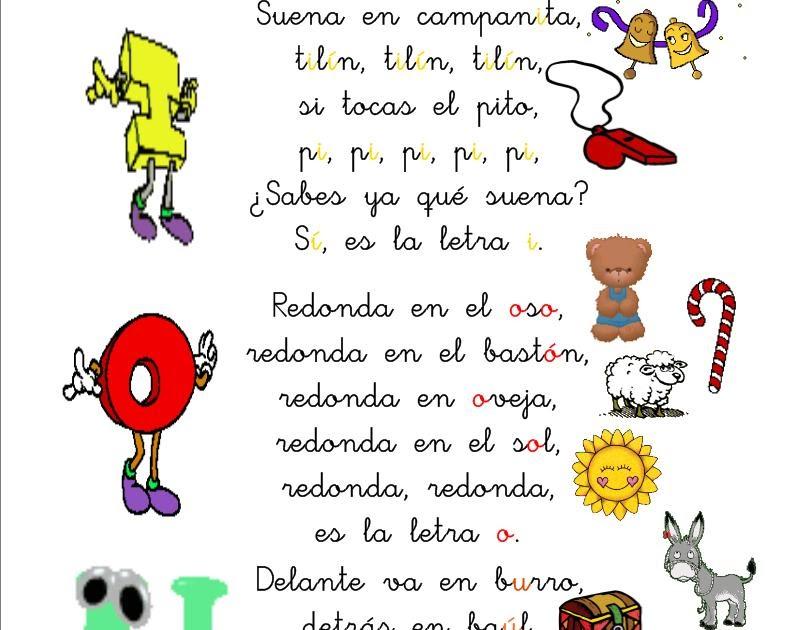 Poesia De Las Vocales