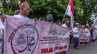 Demo Ritual Sesat Asyuro, Ust. Ahmad Rofi'i: Syiah Ancaman Nyata Bagi Kedaulatan NKRI