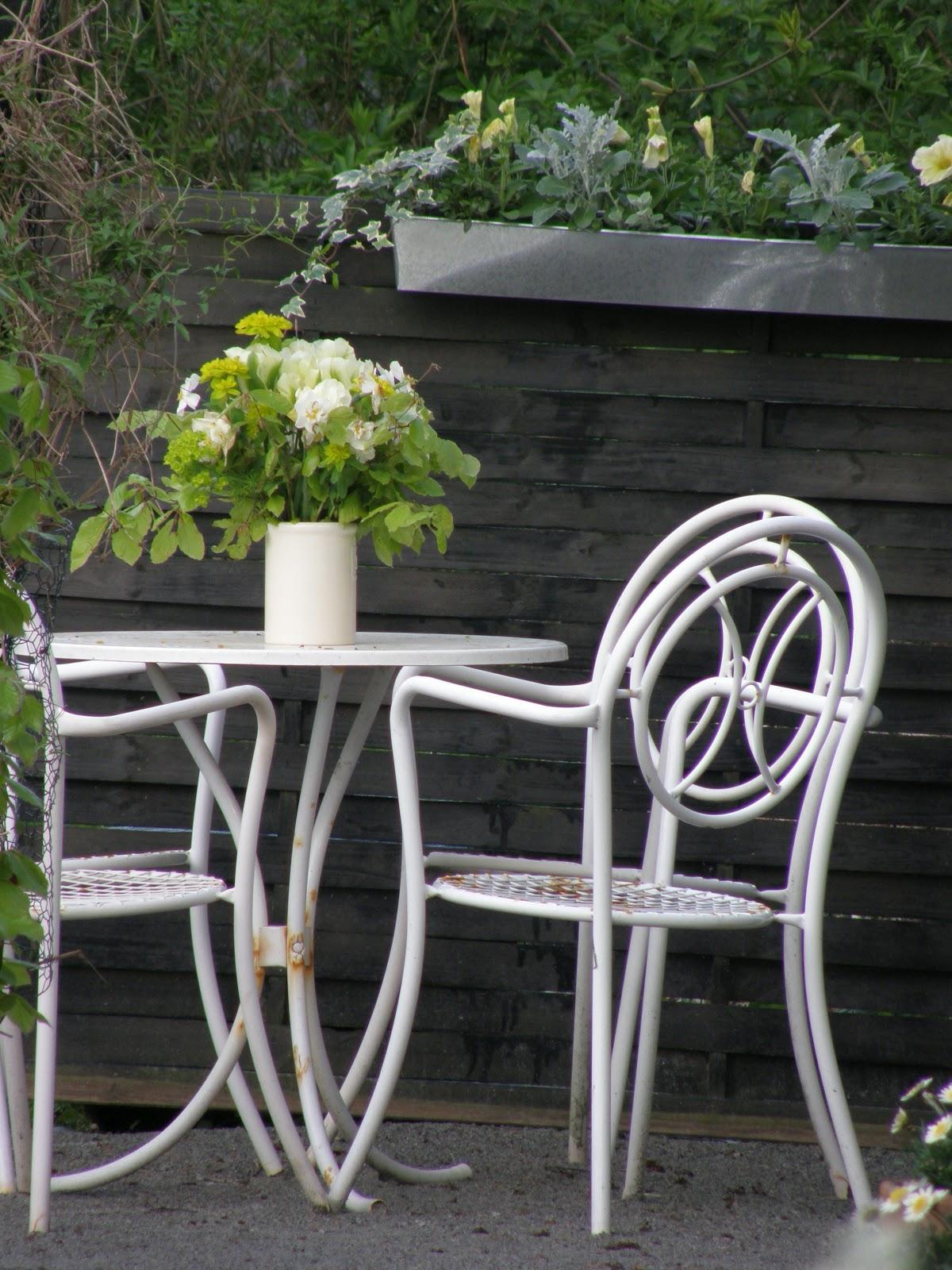 plastikstole til haven