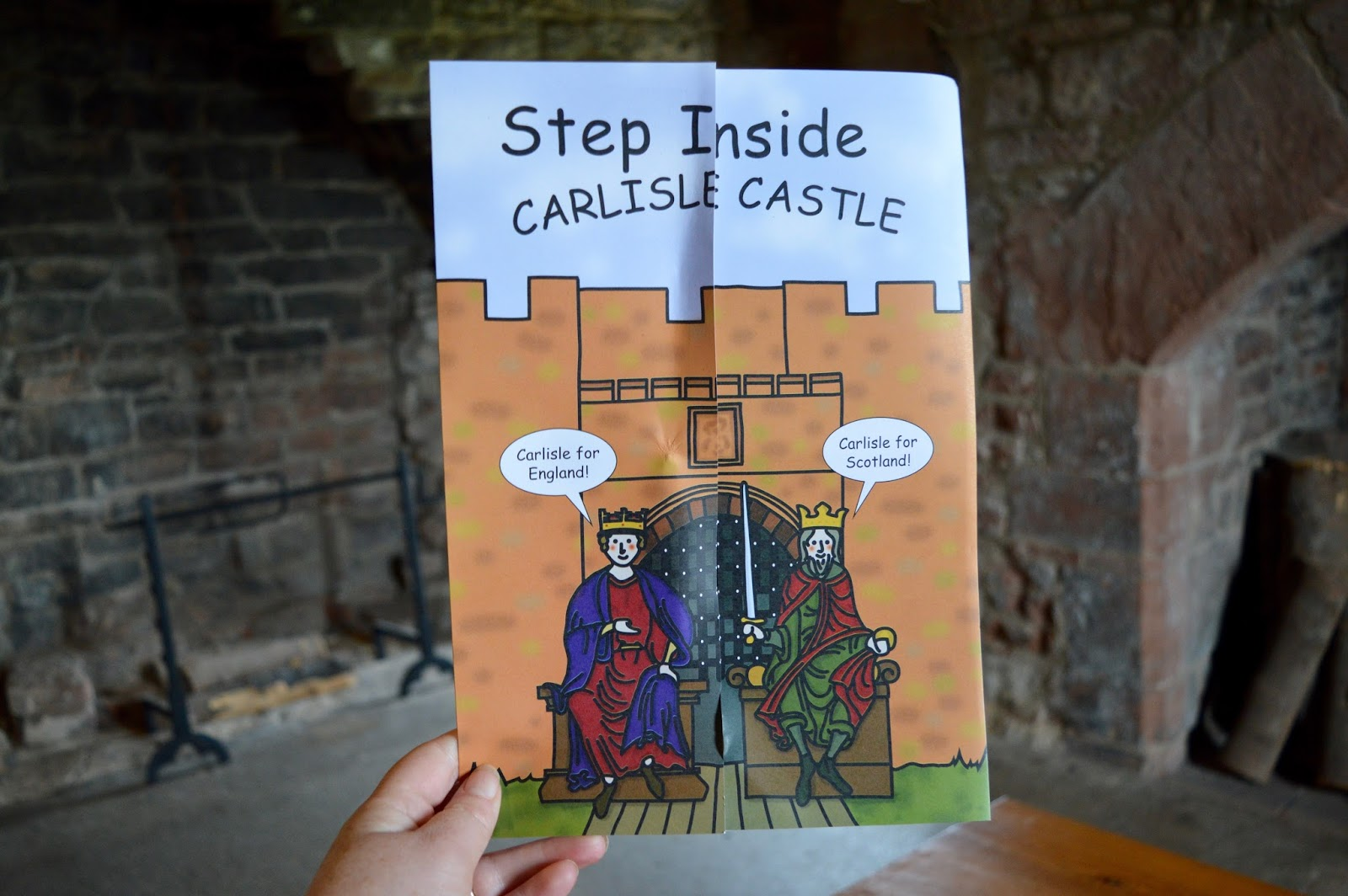 Great Days Out with Northern  | Our Day Trip to Carlisle by Train - Carlisle Castle kids trail