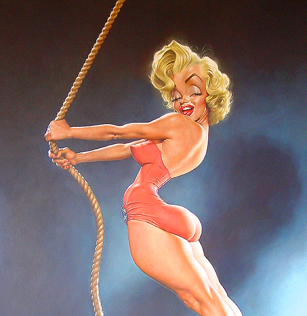 """Marilyn Monroe"" por Sebastian Krüger"