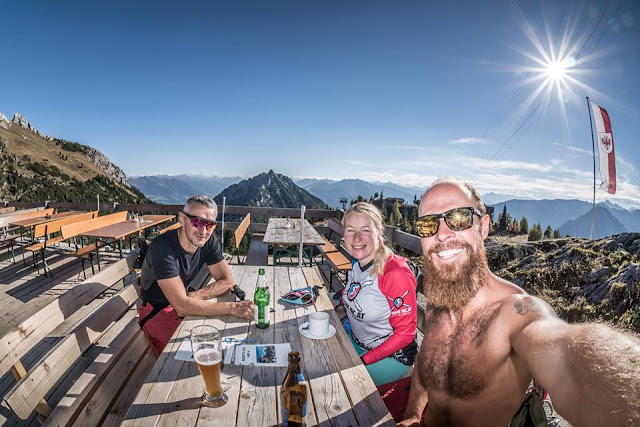 MTB Rofanspitze 2259 m.ü.A. Mountainbike Tour Wiesing Achensee Rofan