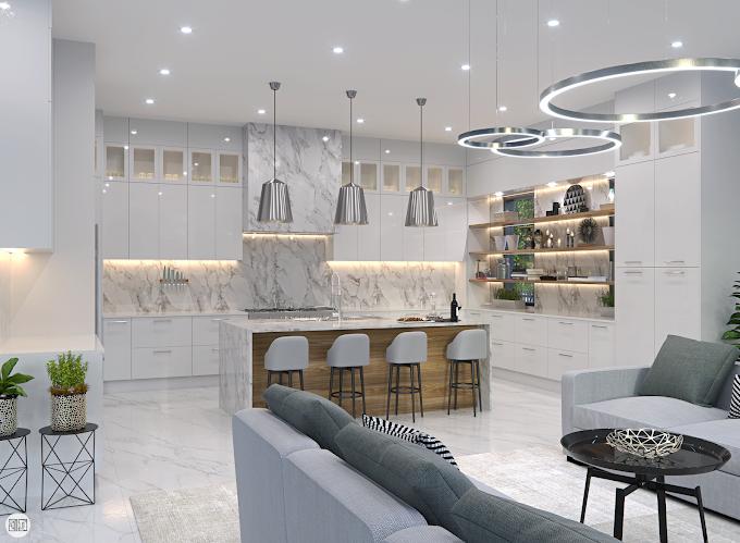 Kitchen Interior Design, Palm Beach FL