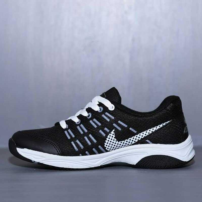Sepatu Olahraga Nike Air Max Hitam Putih  NAM-005   7c68393ac2