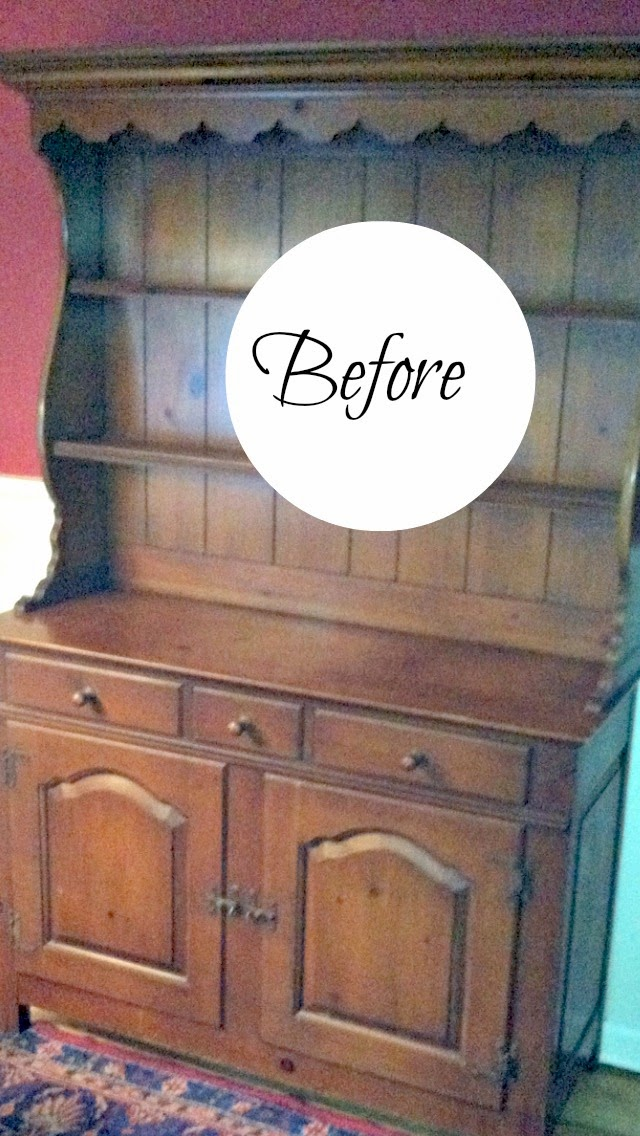 How to Paint a Hutch With Milk Paint