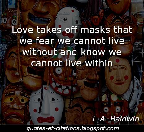 citation les masques