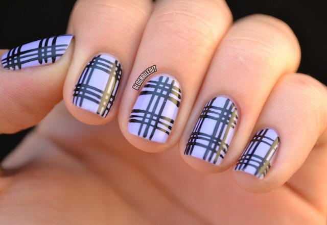 Plaid nail art plaid nail art check out those artistic manicure ideas gallery prinsesfo Choice Image