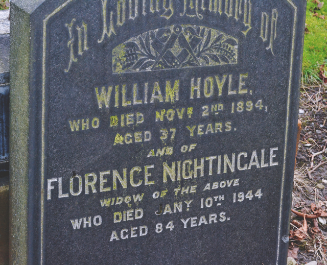 Florence Nightingale gravestone