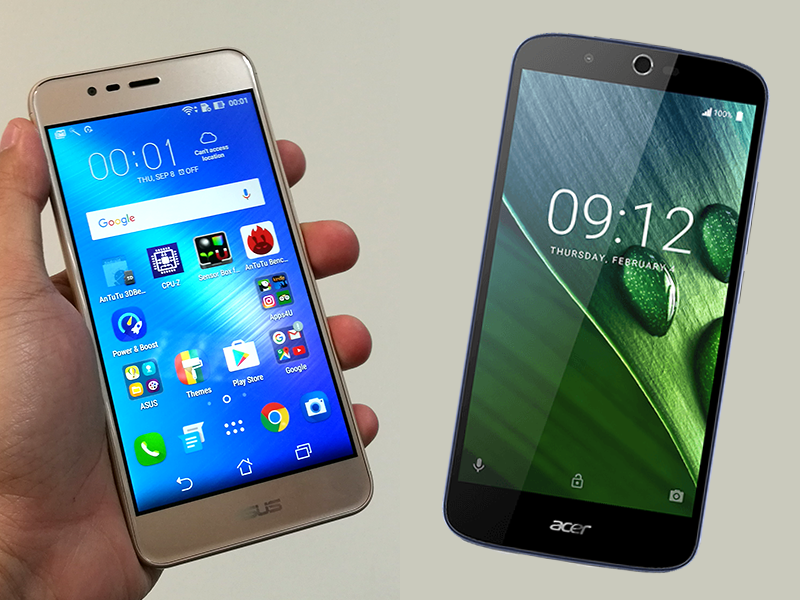 Asus ZenFone 3 Max Vs Acer Liquid Zest Plus Specs Comparison!