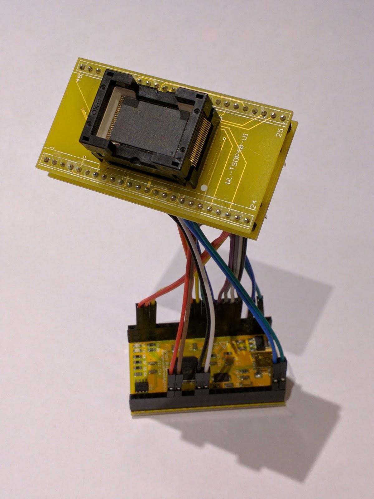 NoBytes com: Adventures into NAND Dumping Part 1