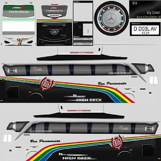 Download Livery Bus Pariwisata