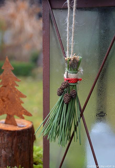 Hof 9 adventsstimmung im garten ein quasten diy for Gartendeko winter