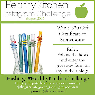 Healthy Kitchens Instagram Challenge + Giveaways