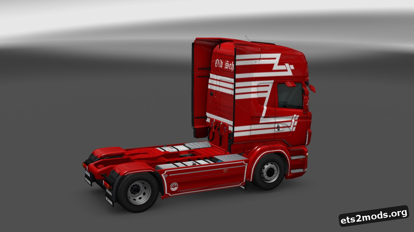 Old School Skin for Scania RJL
