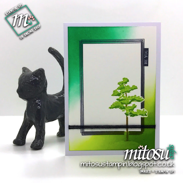 Stampin' Up! Swirly Frames SU Projects order products from Mitosu Crafts UK Online Shop