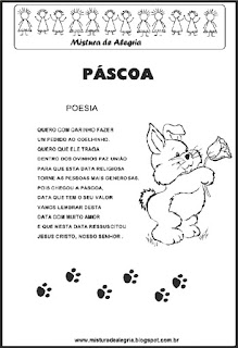 Poesia sobre páscoa