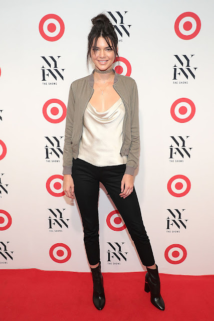 Kendall Jenner Target + IMG New York Fashion Week Kickoff