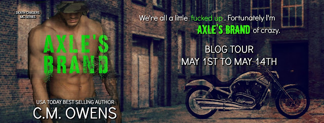 [Blog Tour] AXLE'S BRAND by CM Owens @CMOwensAuthor @BookSmacked #UBReviews #Playlist