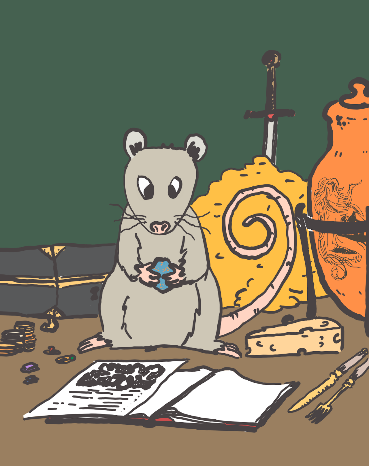 Random Treasure Tables* ~ Dungeons and Possums