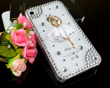 New while dancing ballet girl mobile cover case for iPhone 4 4s 5 5s