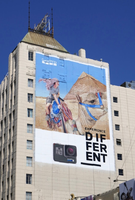 GoPro Experience Different Camel billboard